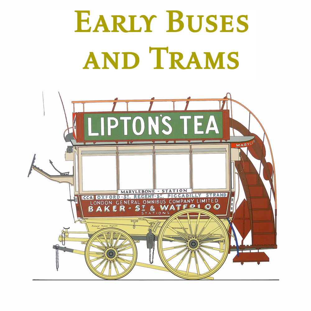 Early Buses and Trams