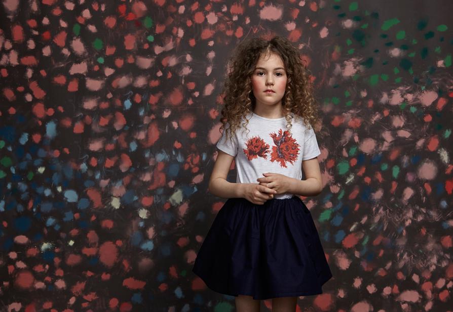 Look Scarlett skirt navy Junior.jpg