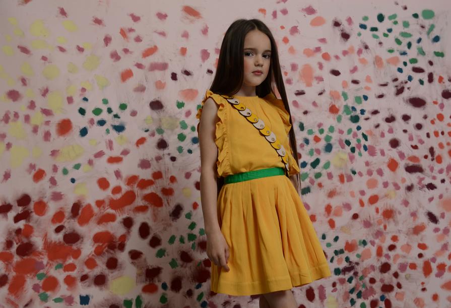 Look BELLA skirt and NORA top Mustard Junior.jpg