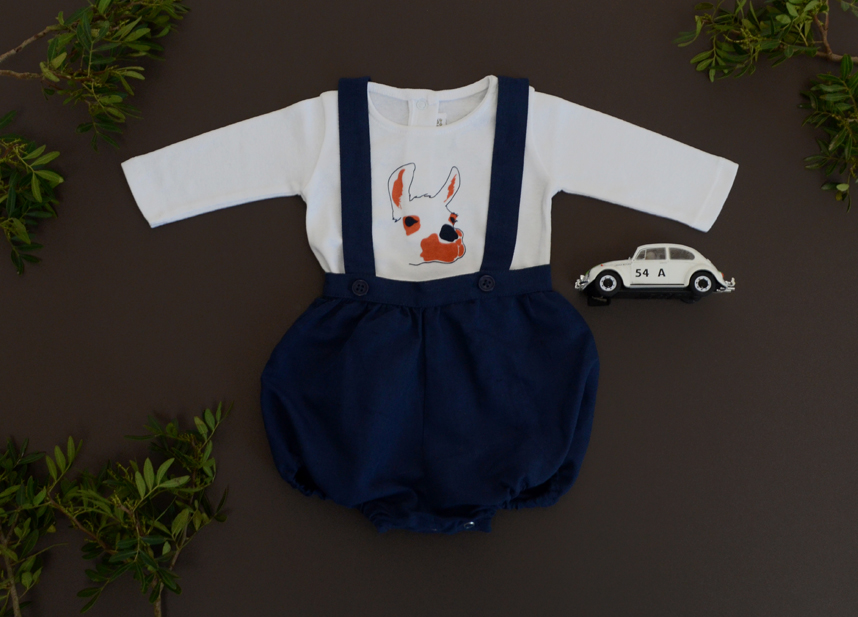 Look HARLEY navy and LAMA head print Baby.jpg