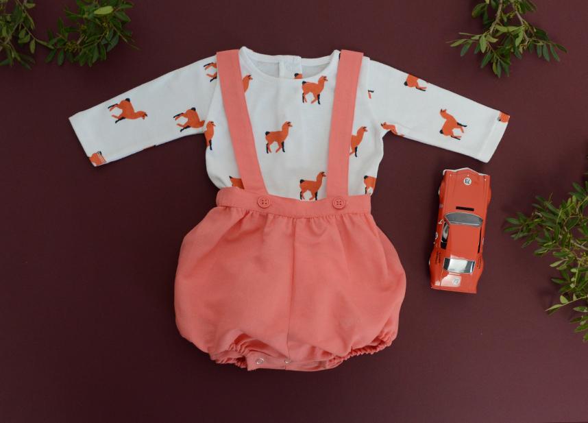 Look HARLEY coral and DOMINO coral lama Baby.jpg