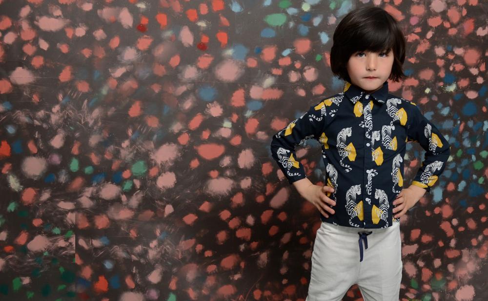 Look GABRIEL JUNIOR shirt navy tiger.jpg