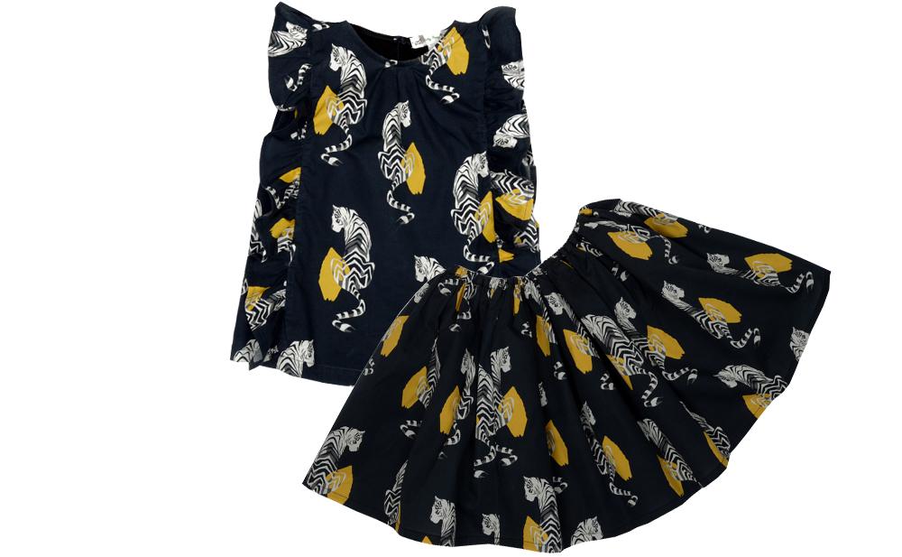 Tiger top and skirt set.jpg