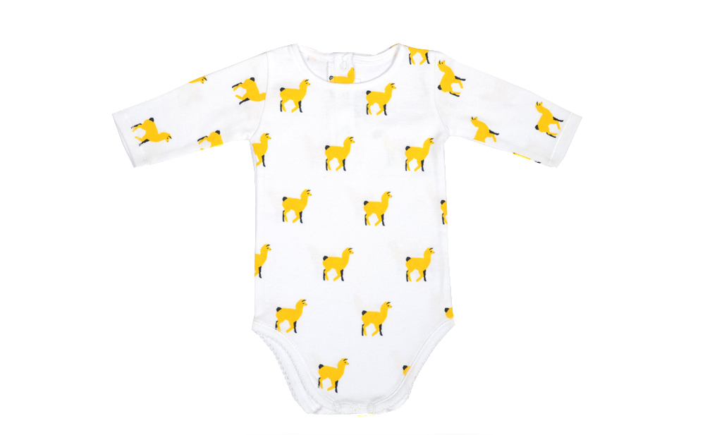 DOMINO body with all over lama yellow print.jpg