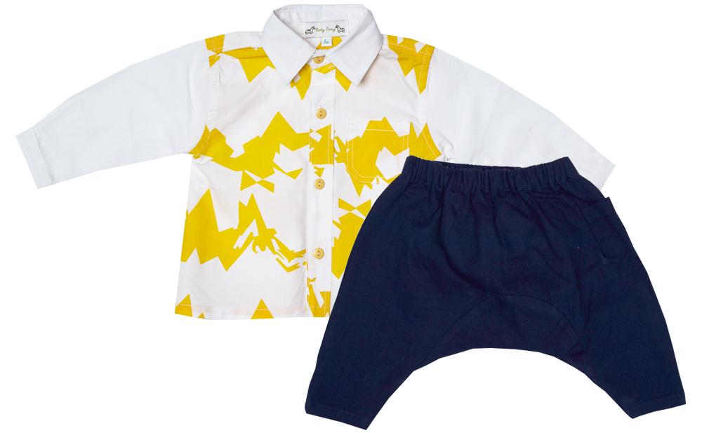 GABRIEL mustard zigzag shirt Justin navy set.jpg