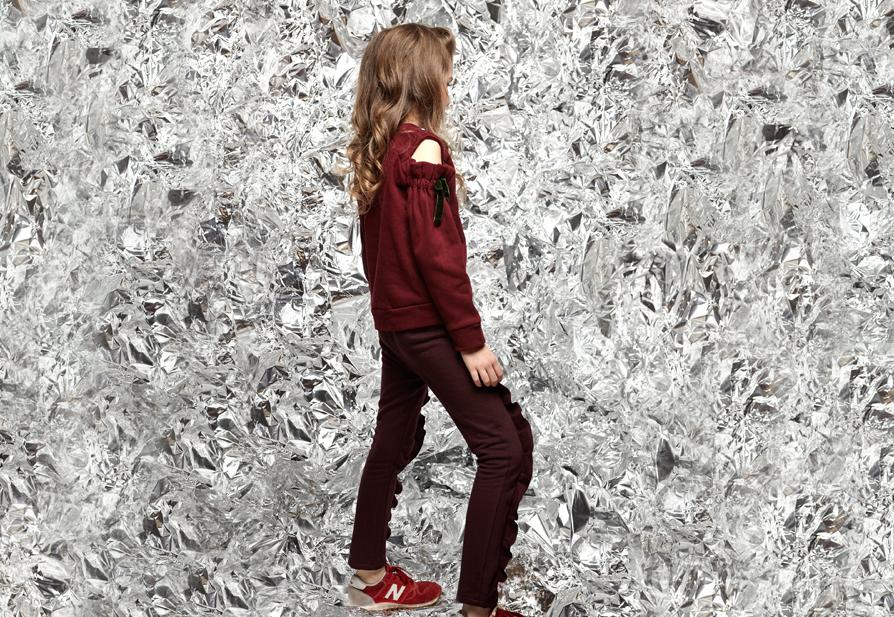 LOOK PEPPA trousers LEYLA sweatshirt Burgundy Junior.jpg