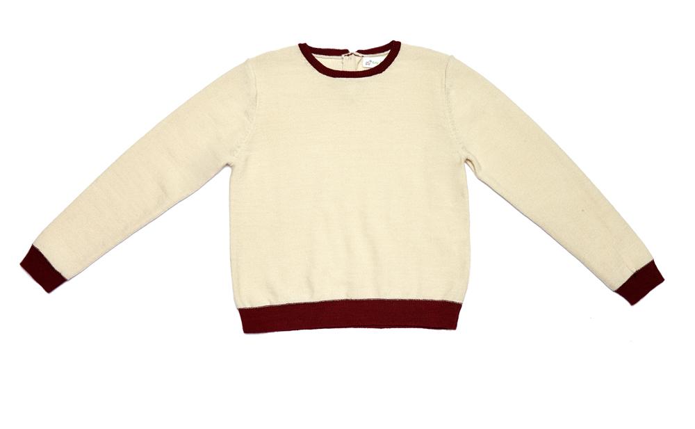 HOLIDAY jumper cream burgundy1.jpg