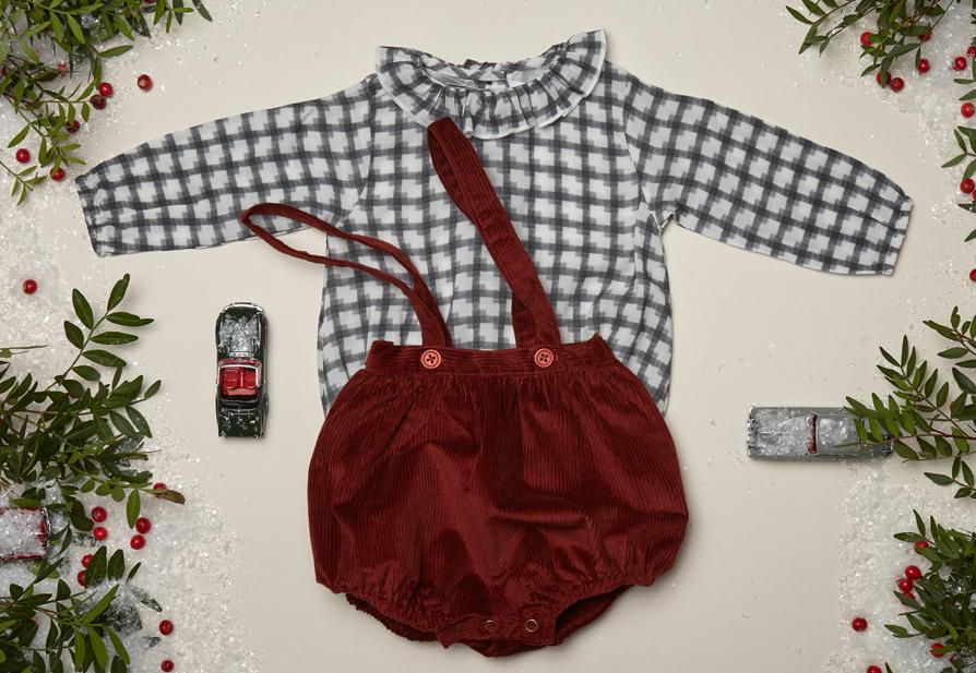 ELLA blouse, SCARLET skirt