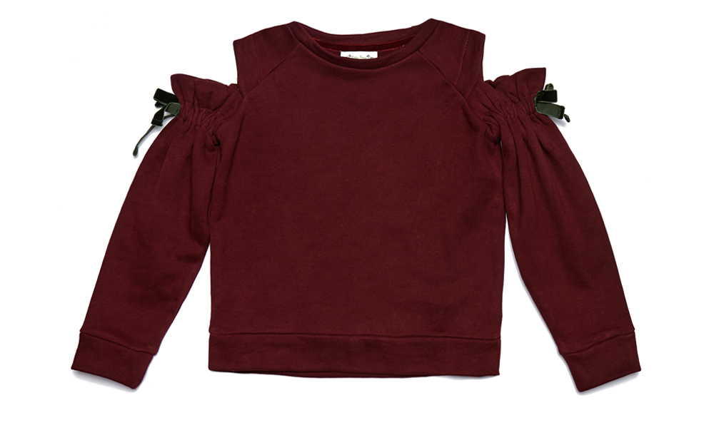 LEYLA sweatshirt Burgundy Junior.jpg
