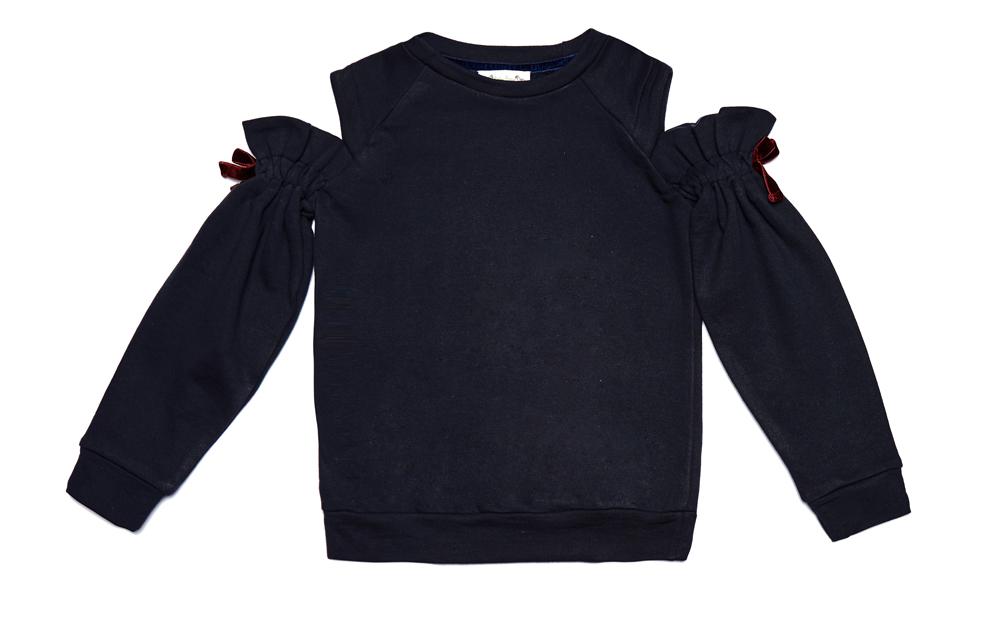 LEYLA sweatshirt Navy Junior.jpg