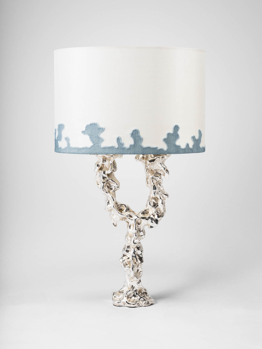 3. MB Table Lamp 'Grotto' blue applique.jpg