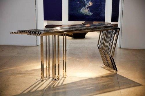 Daniel Libeskind Console '2 x 7'