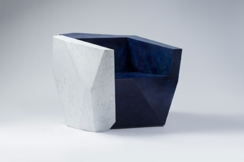 Daniel Libeskind Armchair 'Elemental Split Unit'