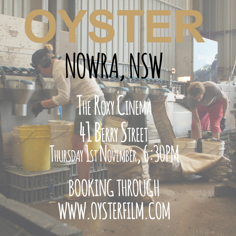 NOWRA @ The Roxy Cinema - Thursday, 1 November 2018 at 6:30pmThe Roxy Cinema41 Berry Street, NSW, Australia