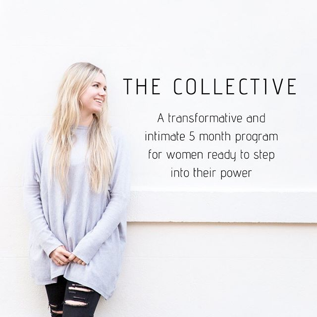 I am so (SO!) excited to share my new program with you!⠀ ⠀ T H E  C O L L E C T I V E.⠀ ⠀ The Collective is a 5 month life changing, intimate and transformative group coaching program for women ready to step into their power.⠀ ⠀ It's for you if you're ready to be in your power like never before. Ready to live with ease, to be in flow. Ready to claim your joy and own your gifts. Ready to be in your highest alignment. Ready for deep, true confidence.⠀ ⠀ We do it differently around here.  It's gonna be a joyous, calm rise. ⠀ ⠀ Over the last few years I have coached over 300 clients one-on-one, held hundreds of workshops and sacred circles and my heart knows it is now time to bring The Collective to life. ⠀ ⠀ I've coached CEO's, mama's, new and established coaches, Grammy award winning artists, playwrights, corporate queens, yoga teachers, those unsure how they want to spend their time and so many more amazing women. ⠀ ⠀ And there is one thing I know for sure - there ain't nothing like seeing a woman step into her power. ⠀ ⠀ I love how we rise together as women and this is going to be a collective uplevelling. ⠀ ⠀ Think: ⠀ + Powerful coaching to get you more in your power than ever before. ⠀ + An honouring of the beauty and brilliance of your feminine energies. ⠀ + Living in reverence to our magic cyclic ways and our intuition. ⠀ + Balancing soulful inner work and practical action.⠀ + An intimate sisterhood of women ready to step in and step up.⠀ + Prioritising ease and wellness while you soar.⠀ + The entire experience infused with sacredness.⠀ ⠀ This is for you if you are ready to go deep.  There are no PDF's or workbooks (phew, huh!). Instead we focus on what is present and true for YOU.⠀ ⠀ Feeling called?  All details at the link in my bio. ⠀ ⠀ I can't wait to journey with you.⠀ ⠀ ♥️⠀