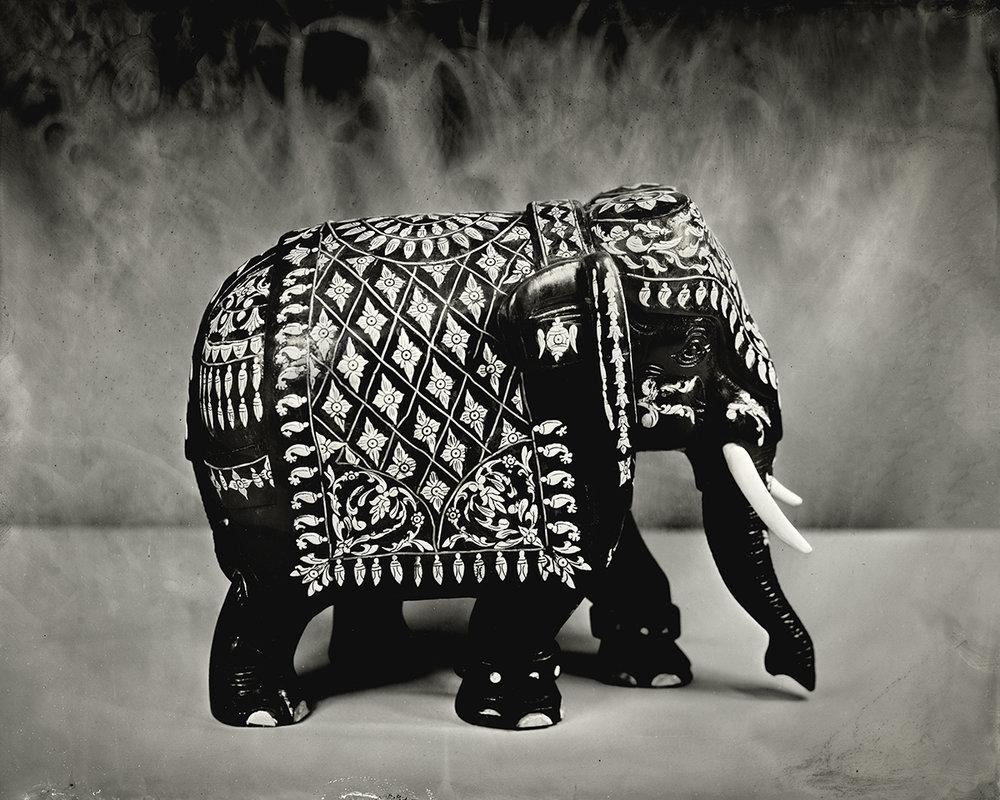 Ivory Inlaid Elephant, 2018