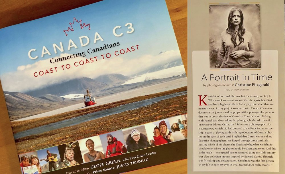 Canada C3 Commemorative Book, 2018, Page 51.
