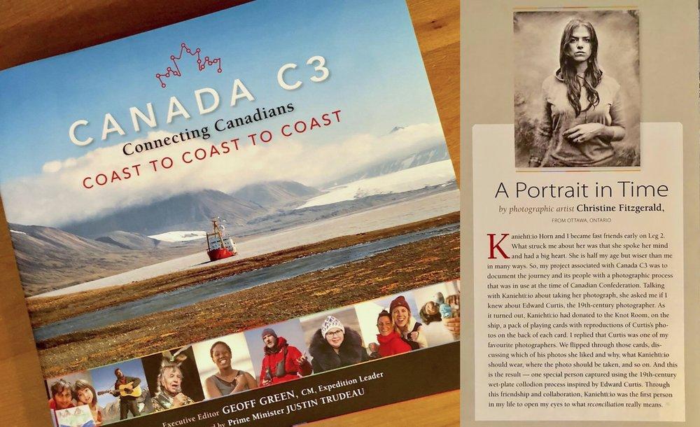 Canada C3 Commemorative Book, 2018, Page 51.