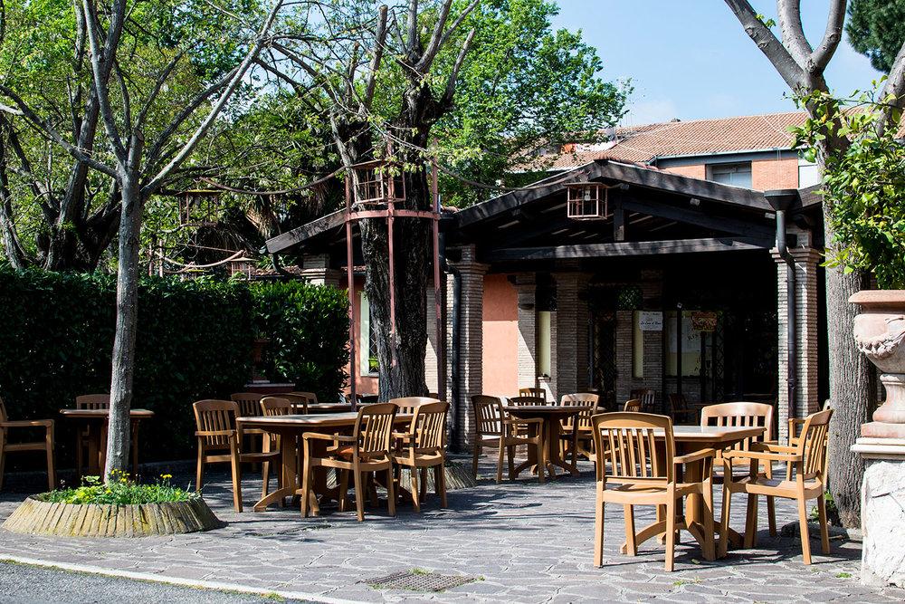 Pizzeria con giardino roma casamia idea di immagine - Ristoranti con giardino roma ...