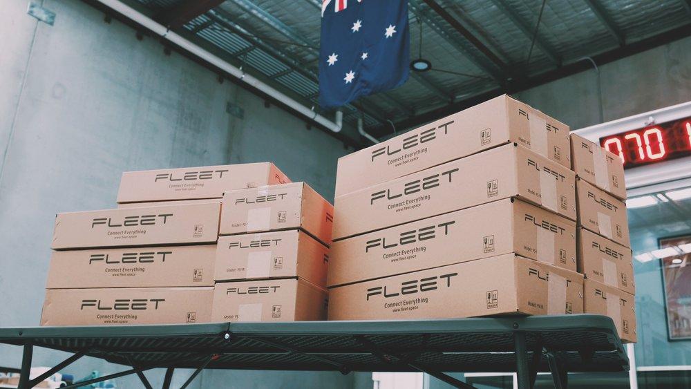 Ready to ship around the world!