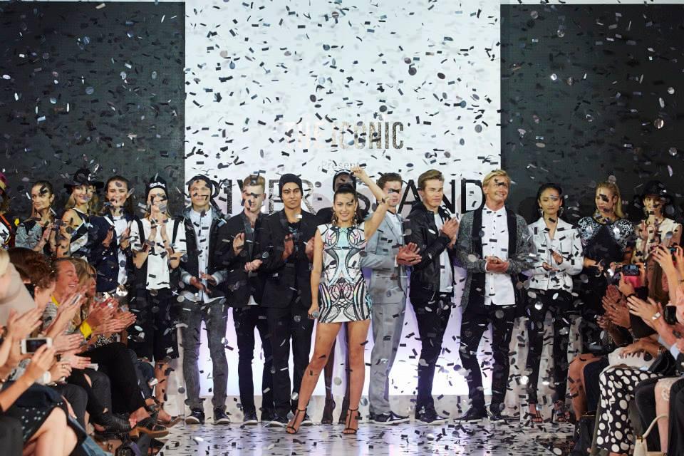Confetti Powershot over Fashion Runway - Blaso Pyrotechnics, Melbourne, Australia