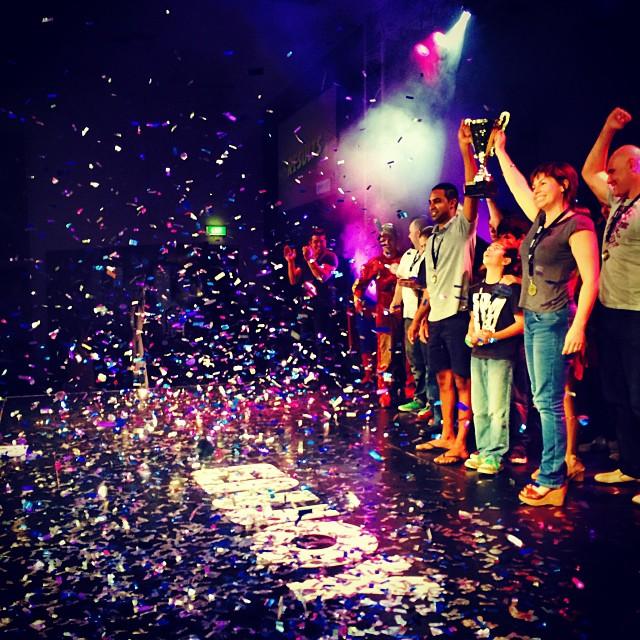 Confetti Cannons at award presentation - Blaso Pyrotechnics Melbourne, Australia