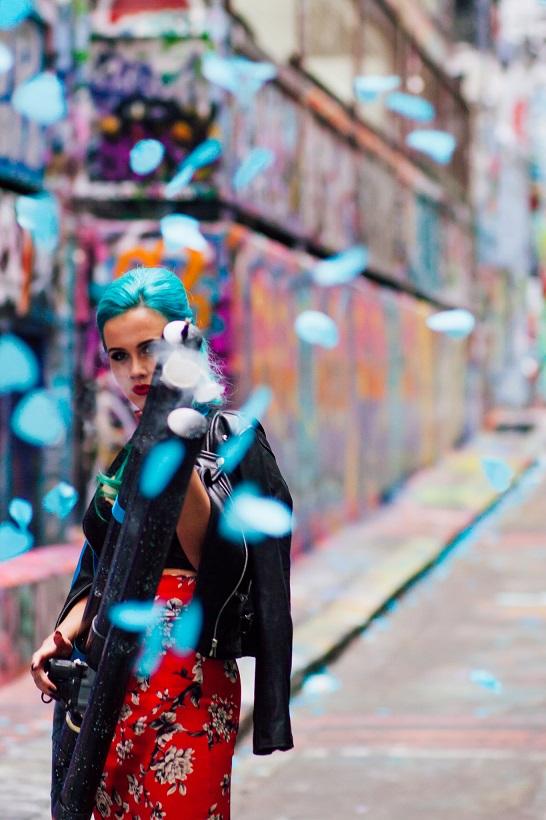 Blaso Pyrotechnics Custom Confetti Cannon Tigerlilly Blue Hearts.jpg