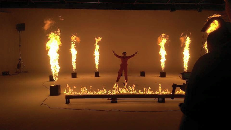 Blaso Pyrotechnics Ivan Ooze Fire Videoclip Behind the scenes 2.jpg