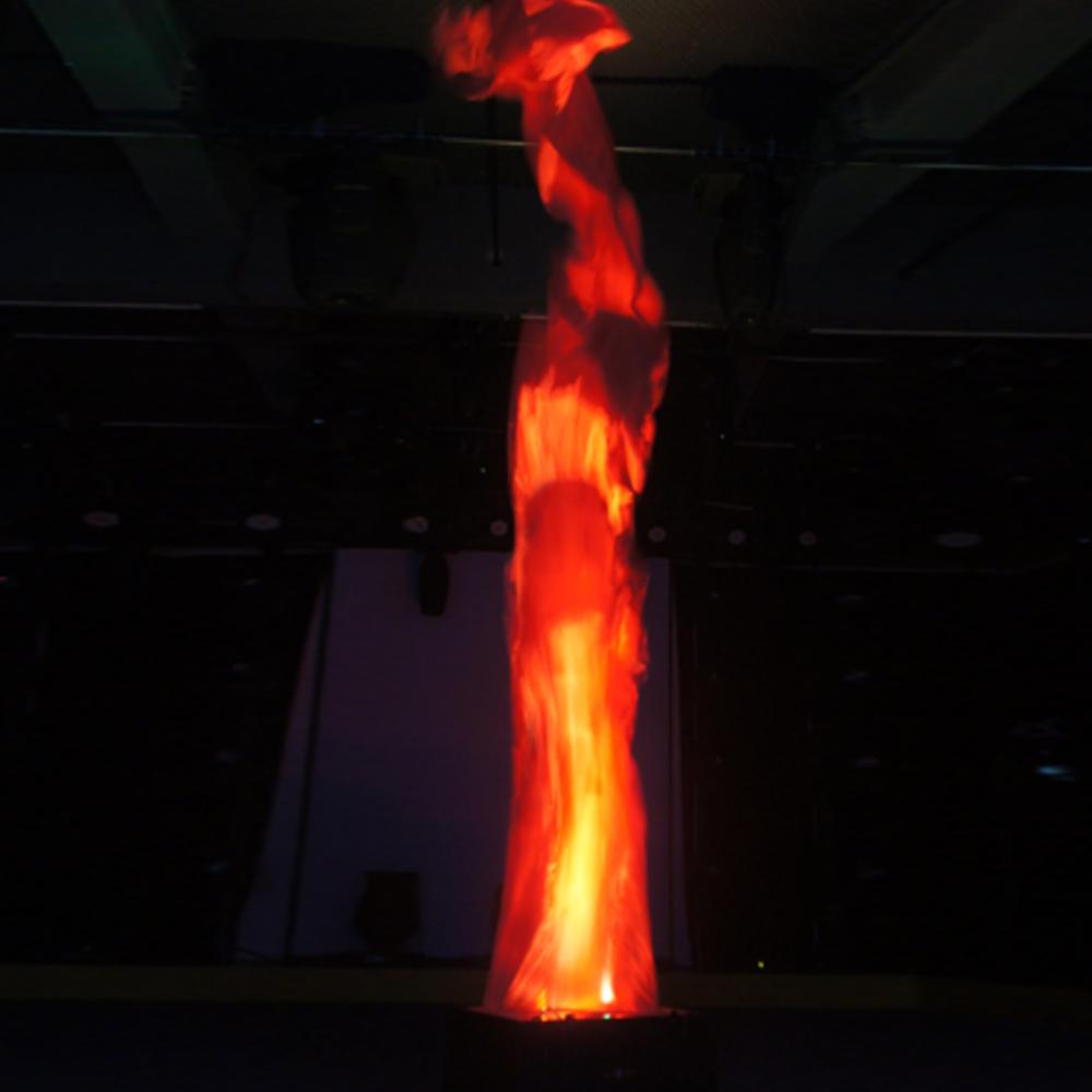 SILK LED FLAMES XL (6 METRES) Blaso Pyrotechnics