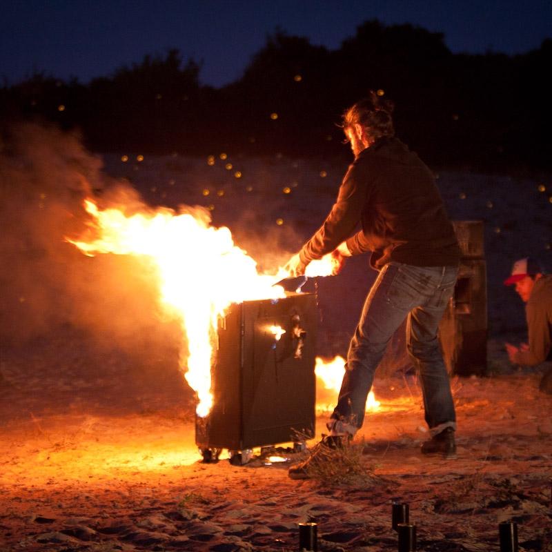 Flame Paste Blaso Pyrotechnics