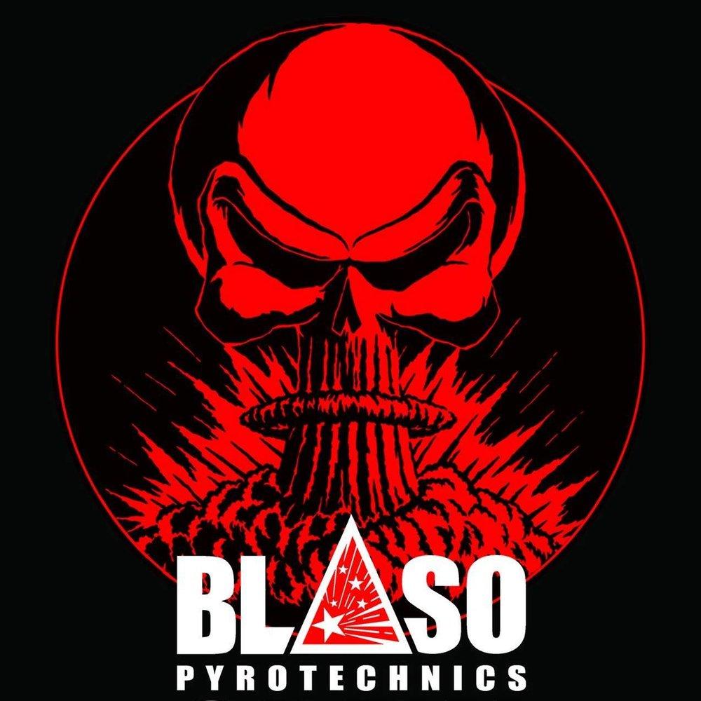 Blaso Pyrotechnics Logo Skull