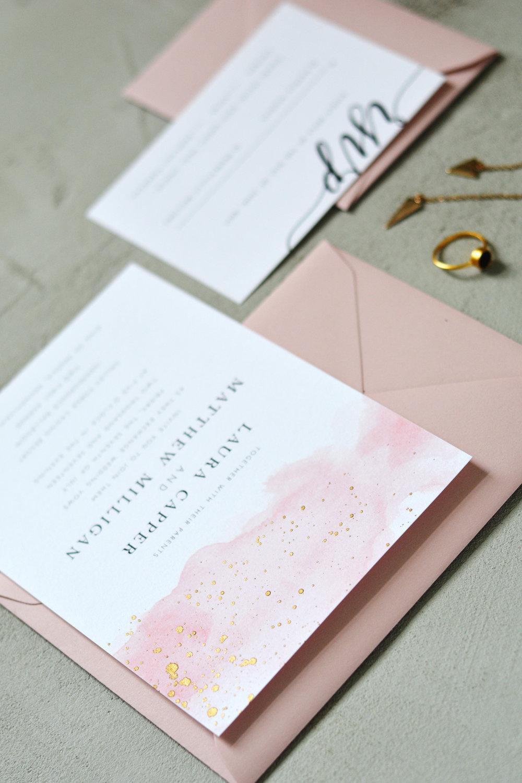 Stories Custom Stationery Wedding Invitation Design Cheer Dry