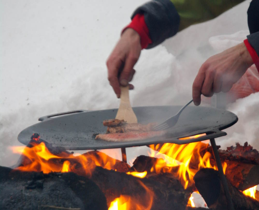 Lapland Arctic Safari Cooking