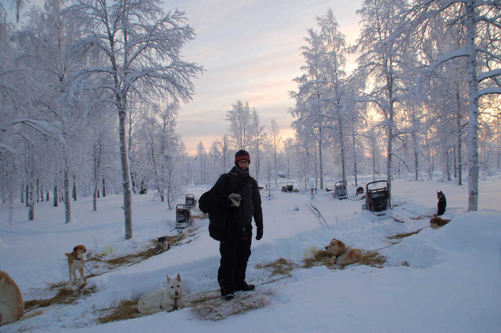 Lapland husky safari retreat