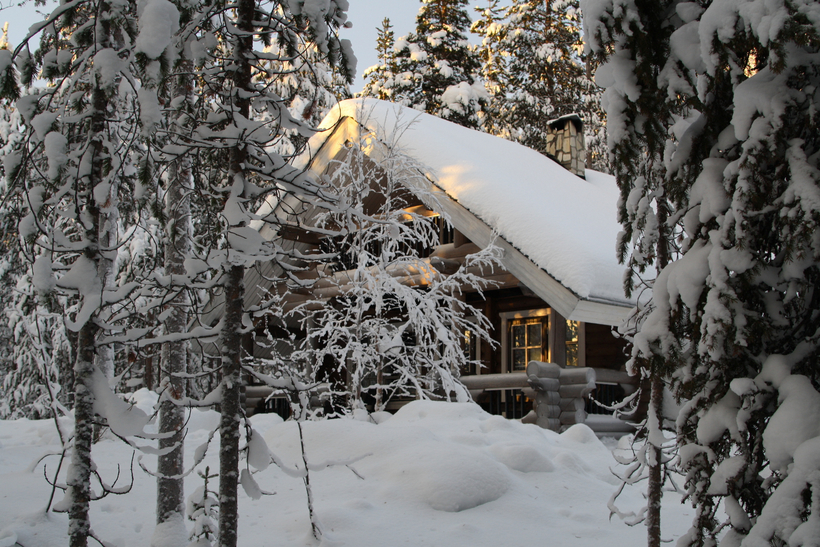 Lapland cottage