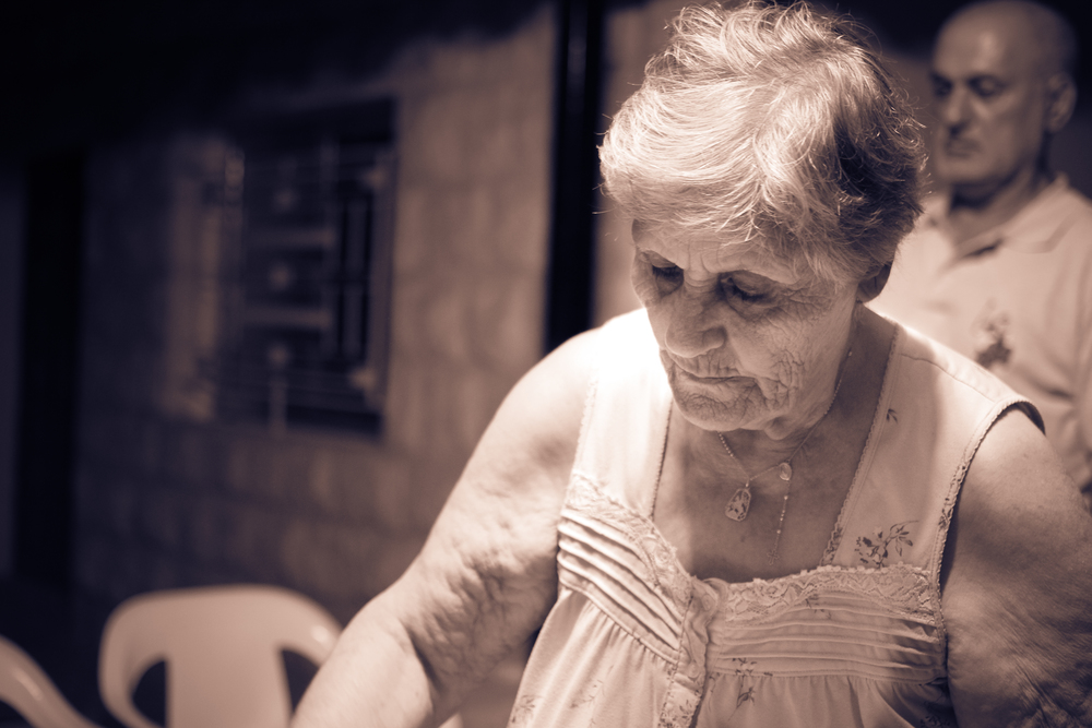 Grandmother, southern Lebanon 2014