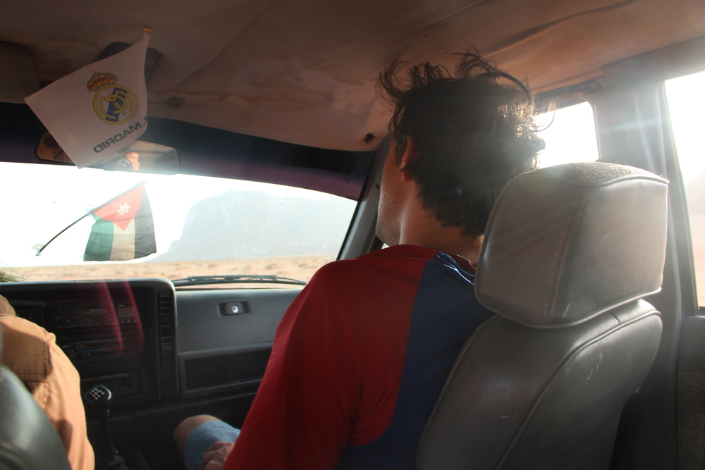 Wadi Rum jeep ride, 2013