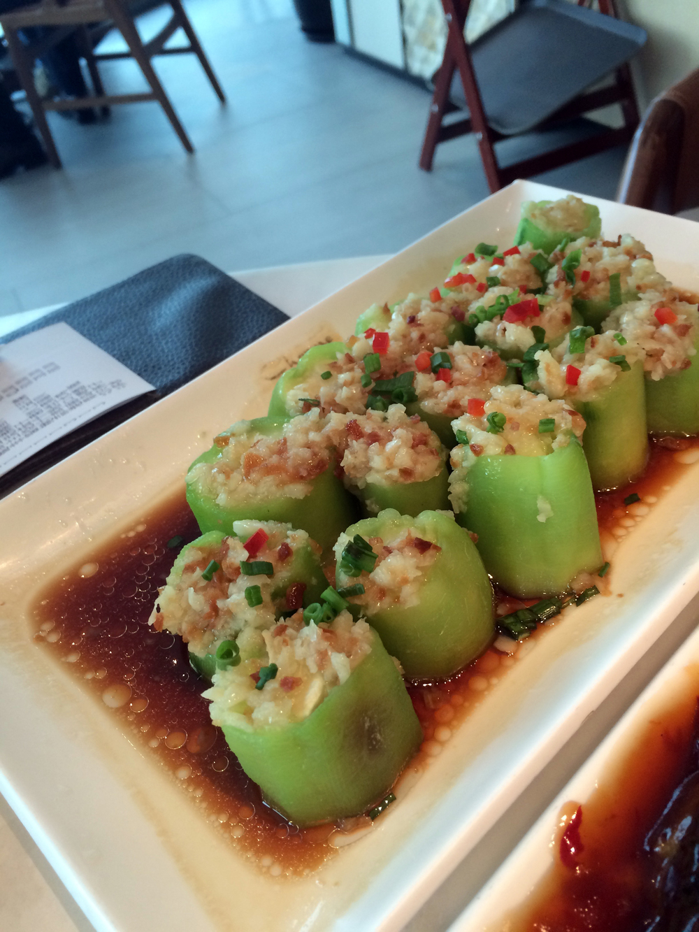 Steamed Cucumber