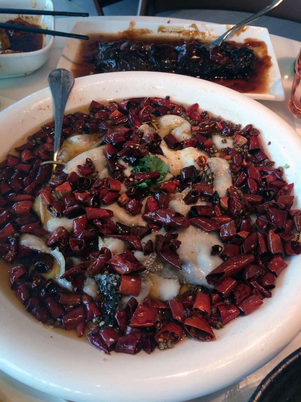 Szechuan Fish Head Stew