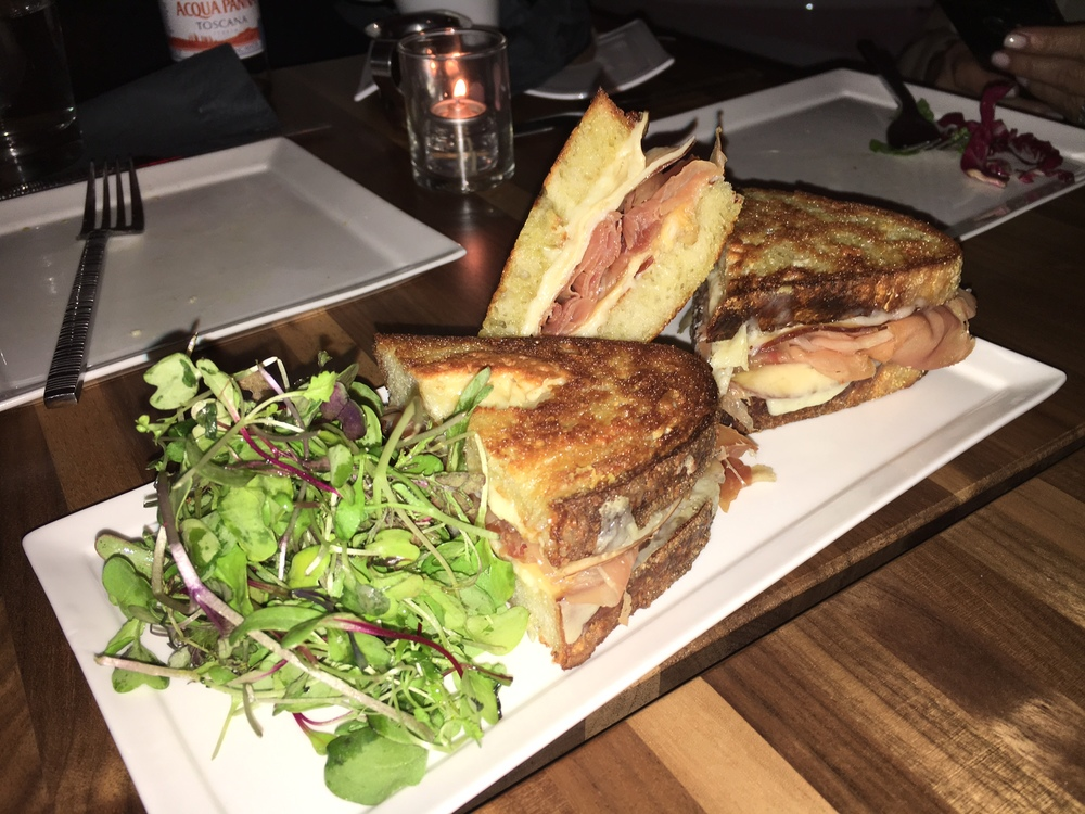 Grilled Cheese with Serrano Ham