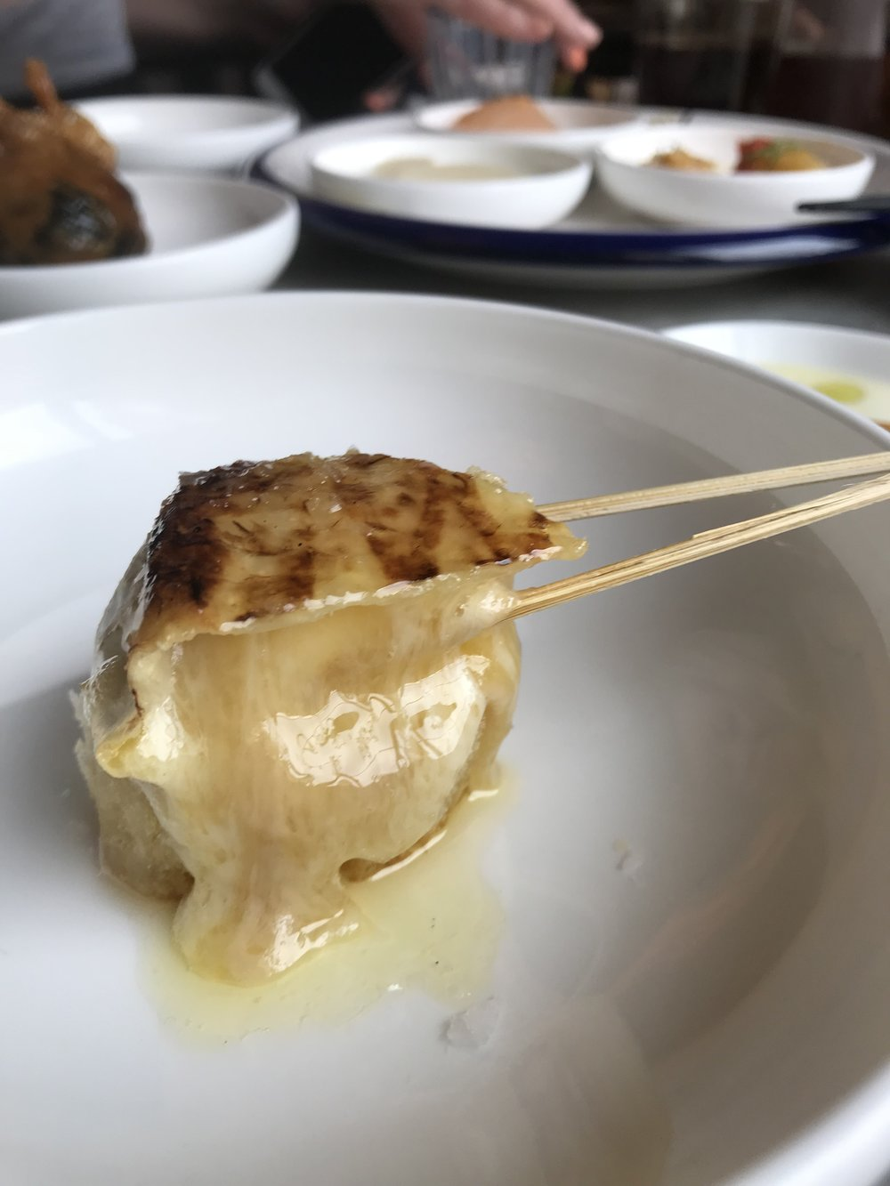 Camembert kushiyaki. PC: Meghan Milloy.