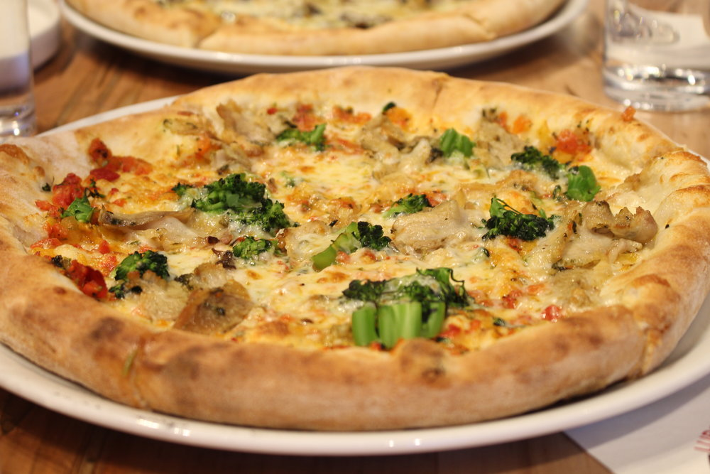 Lupo Marino pizza