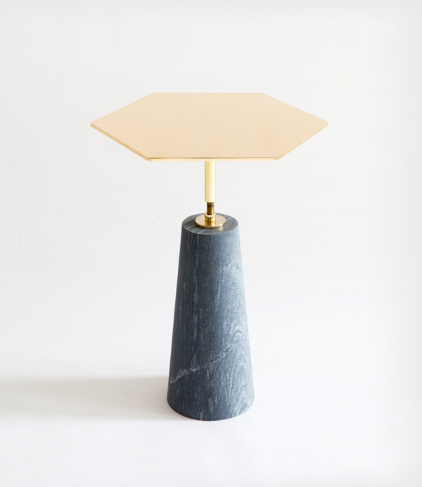 POLISHED HAWLEY SIDE TABLE - EGG COLLECTIVE