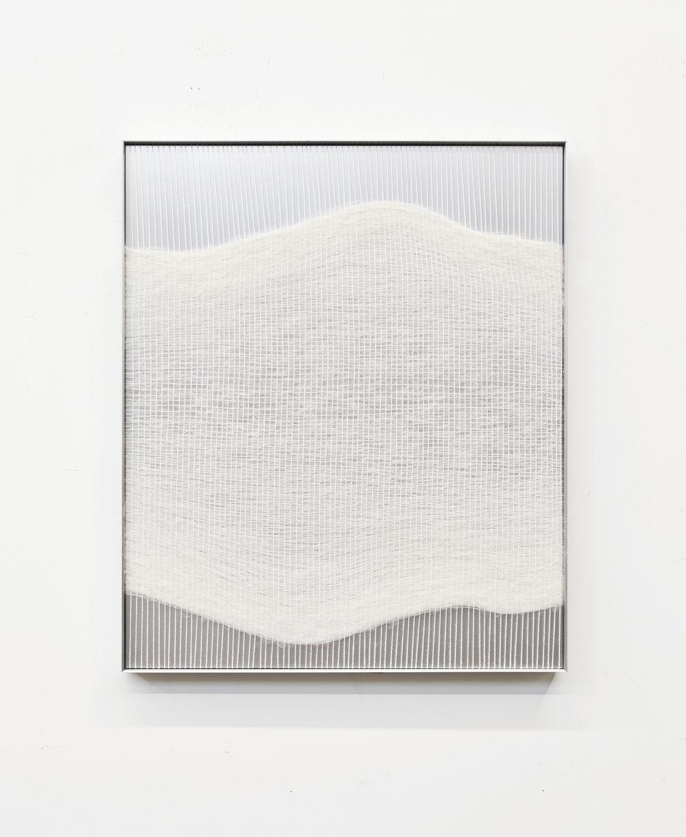 Mimi Jung - White Live Edge Form, 2018