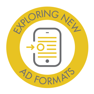 exploring new ad formats