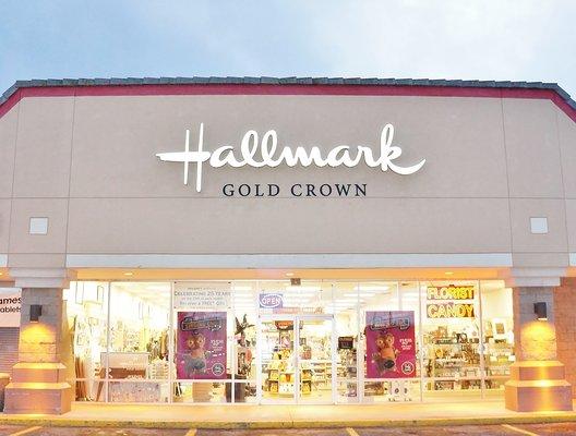 Holiday's Hallmark & Florist Store Front