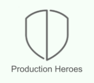 logo production heroes
