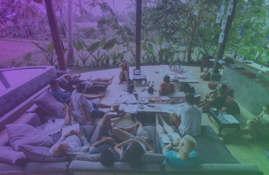 Sprints de aceleración en plena naturaleza - ¿Sabías que en un pequeño pueblo de Bali reside una de las comunidades emprendedoras más internacionales del mundo?