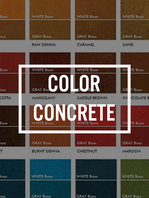 color concrete btn