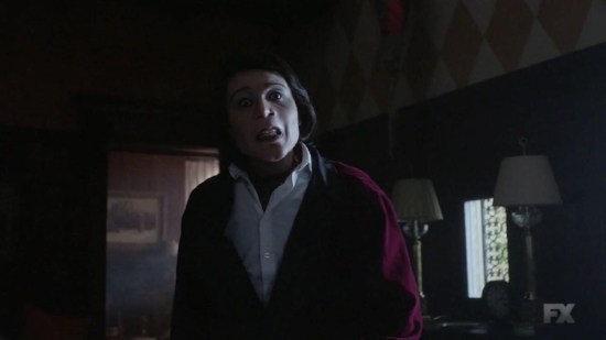 Glover as Teddy Perkins, in all of his terrifying glory.
